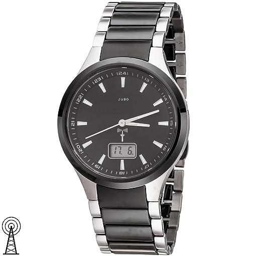 Jobo damen funk armbanduhr