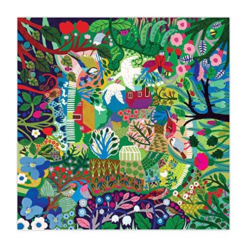 eeBoo Bountiful Garden Jigsaw Puzzle, 1008 Pieces
