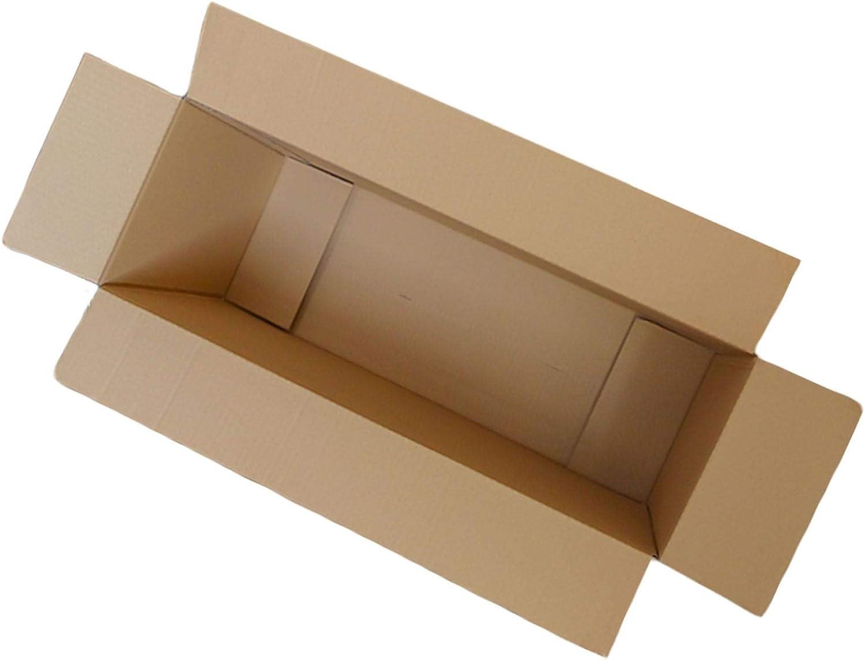 5 10 20 40 x cajas de cartón grandes de tamaño grande y fuertes, cajas de cartón para mudanzas, color 5 – 56 cm x 8 cm x 33 cm.: Amazon.es: Oficina y papelería