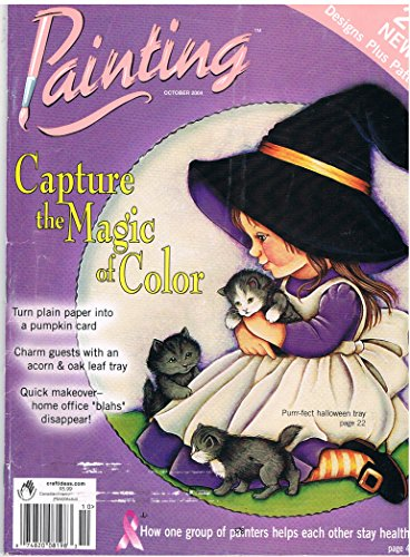 Painting Magazine Capture the Magic of Color October 2004 -