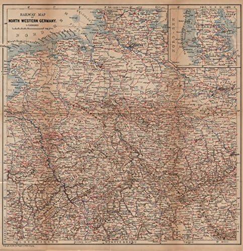 Amazon Com North West Germany Railways Nord Deutschland