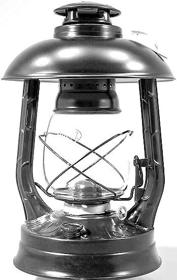 altdeutsche Kupferlackierung Dietz Original Sturmlaterne Wizard gro/ße Petroleumlampe H/öhe 29,2 cm