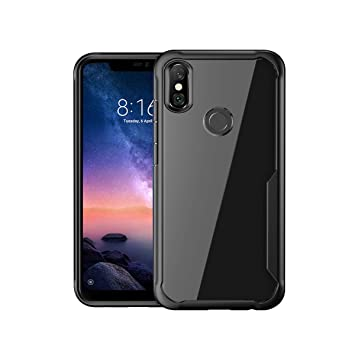 fc911eab955 DGEOT™ Anti-Scratch Hybrid Cover for Redmi 6 Pro  Amazon.in  Electronics