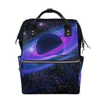 Amazon.com: Space Neon Anillos Planeta Galaxy Diaper Bolsas ...