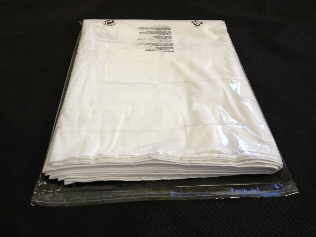 (100x) 12� x 15� Clothing Garment T-Shirt Bags Clear Protection Display Bestport (Europe) Ltd