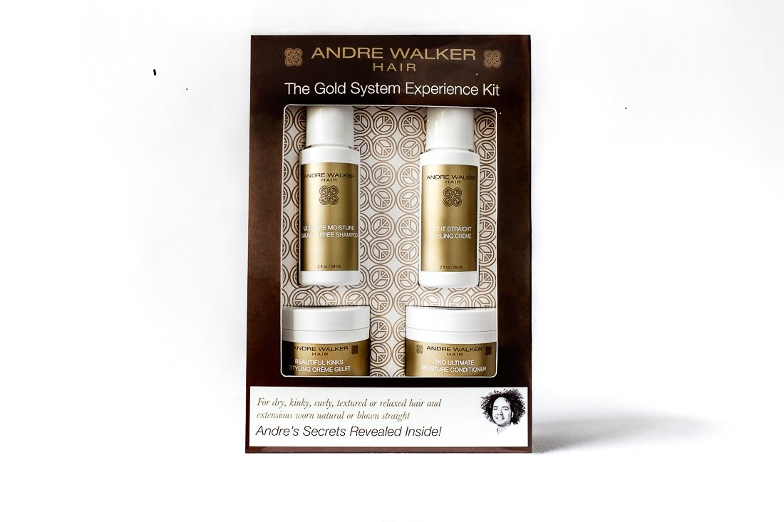 Andre Walker Hair, Official Gold System Store, The Gold System Experience Kit