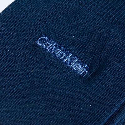Calvin Klein Men's Signature Flat Knit Crew Socks