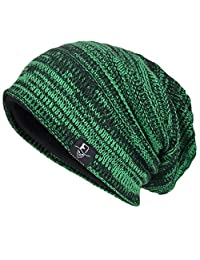 JESSE · RENA Men's Slouch Beanie Skull Cap Lined Oversize Baggy Winter Hat CFB5001