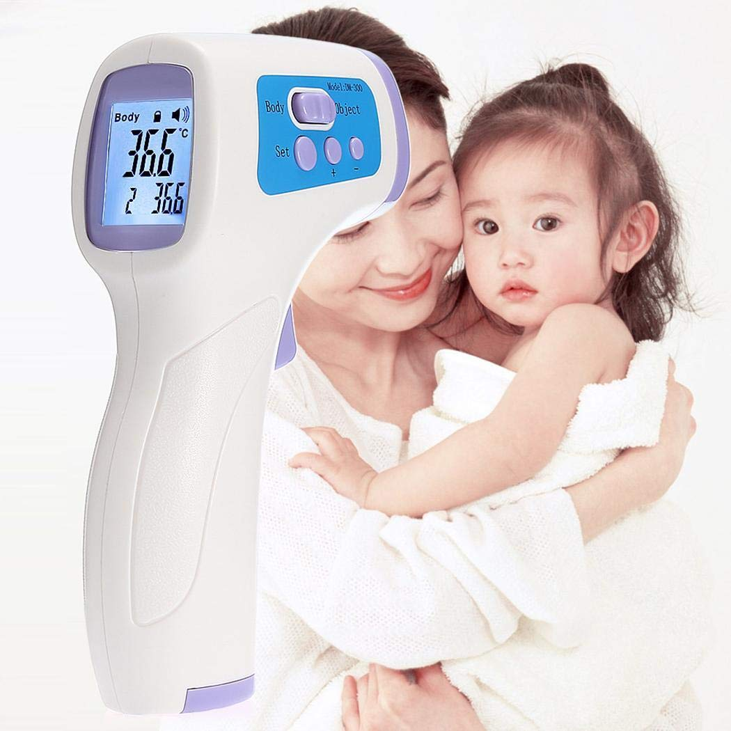Halffle Children LCD Display Body Digital Thermometer Household Infrared Thermometer (Type 1)