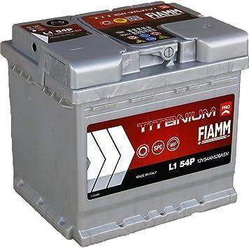 : Batterie Fiamm Titanium Pro voiture 54 Ah