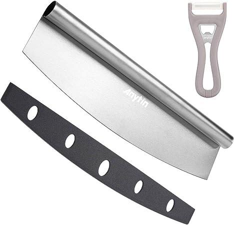 Amazon.com: Anytin Cortador de pizza de 14 pulgadas cuchilla ...