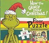 Dr Seuss How the Grinch Stole Christmas Floor Puzzle