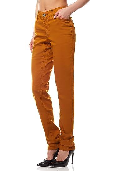 Arizona Jeans Femme Jaune 367652 3918f887394