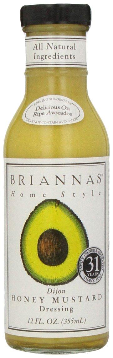 Brianna's, Honey Mustard Dijon Dressing, 12 oz