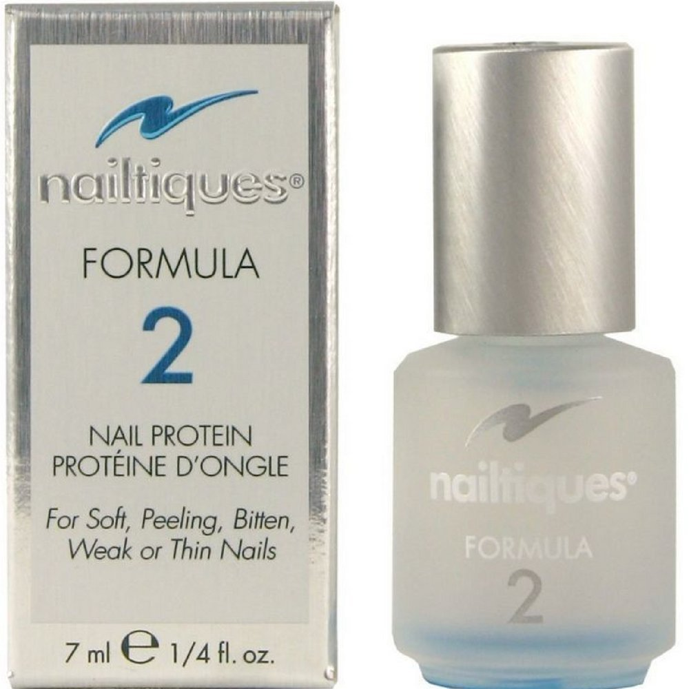 Amazon.com : Nailtiques Nail Protein Formula 2, 0.25 oz ( Pack of 3 ...