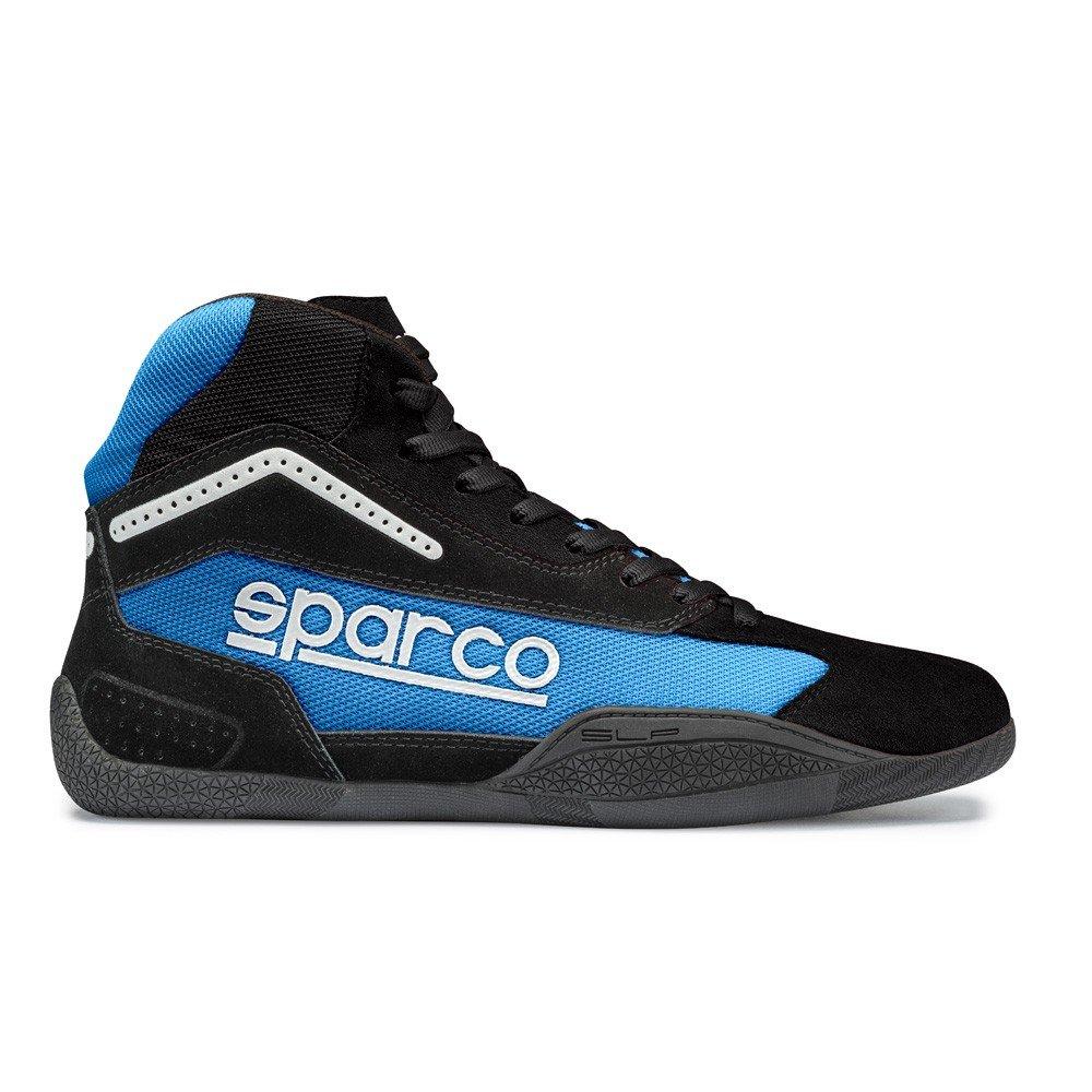 Sparco 00125940NRCE Botines para Karting, Negro/Azul, 40 S00125940NRCE