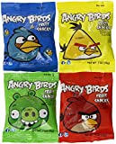 Angry Birds Fruit Snacks 42 Pouch Assortment Variety Box, 29 OZ.