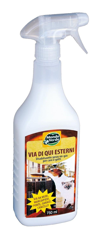 Mondo Verde REP02EP Repelente Perros y Gatos líquido de 750 ml Blanco 6x3x28 cm: Amazon.es: Jardín