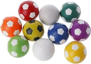 qingqingR Le Jeu d'intérieur de Famille de Table de Soccer de Tableau de Soccer de Foosball en Plastique a coloré Le Sport Joue la Couleur aléatoire