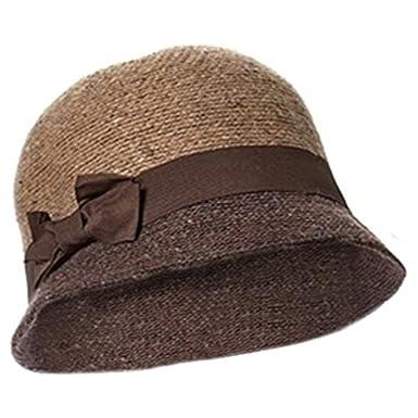 da4c9f341 Winter Cloche Hat for Women Camel Cloche Hat 100% Wool Twenties ...