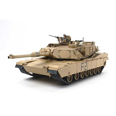 Tamiya 32592 1/48 M1A2 Abrams Plastic Model Kit: Toys & Games