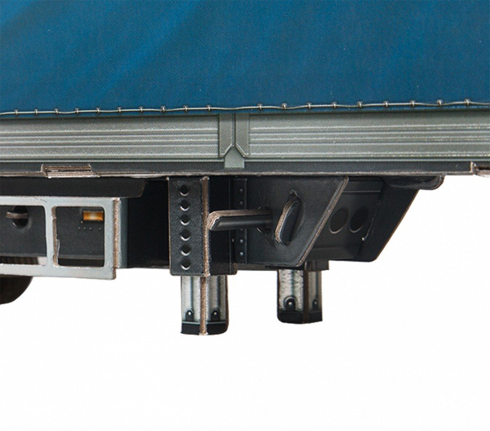 SUPERTRUCK Cardboard Set UMBUM 385 Keranova385 Innovative 3D-Puzzles Clever Paper Truck series