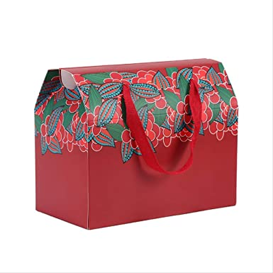 Paquete de 50 Diy Caja de regalo plegable Boda portátil ...