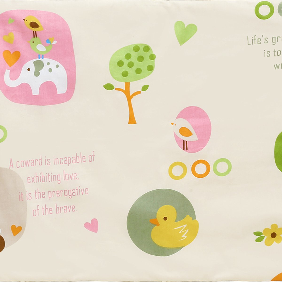 E, 35x45cm KIDSONE Portable Baby Diaper Changing Pad Breathable Waterproof Underpads Changing Mat for Baby Boys Girls