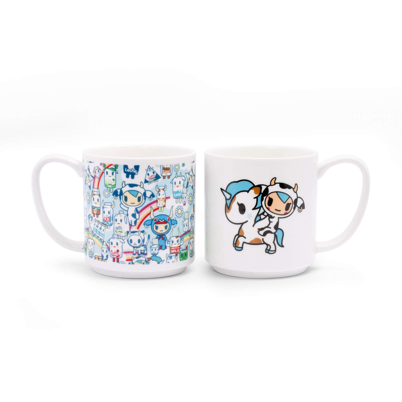 Tokidoki Stapelbare Tassen mehrfarbig  2er-Set