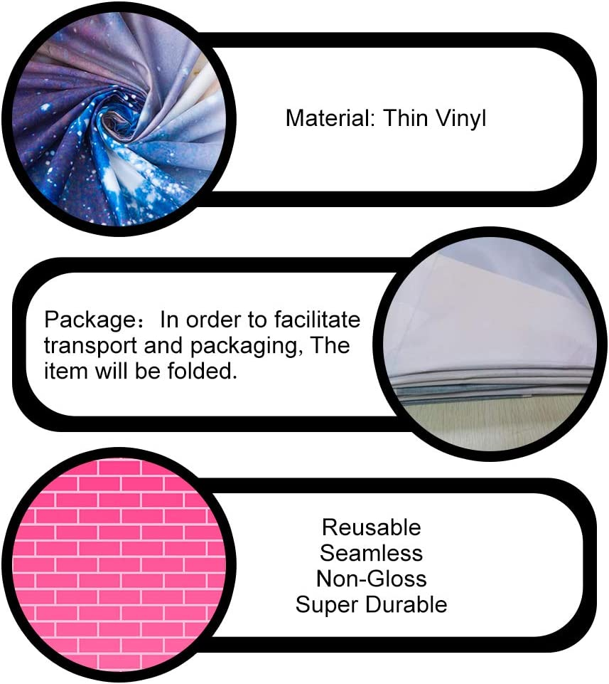Studio Shoot Props BJQQPH109 PHMOJEN 7x5ft Pink Brick Wall Backdrop for Photography Vinyl Girl Portrait Photo Background