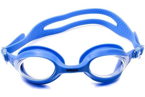 Amazon.com : Splaqua Swim goggle with optical corrective Lenses, BLU ...