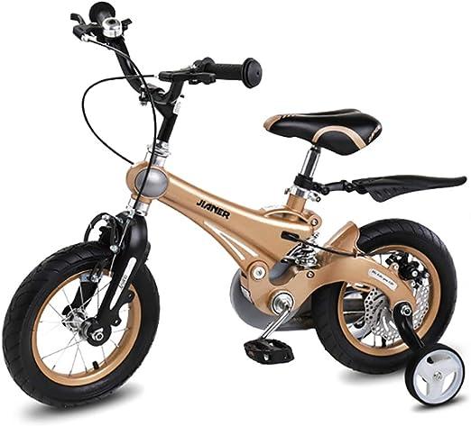 WYXR niños Bicicleta, Ride 16 Pulgadas Niño Niño o Niña Infantil ...