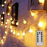 Amazon Com Hometarry Led Fairy Lights Battery Operated Lights