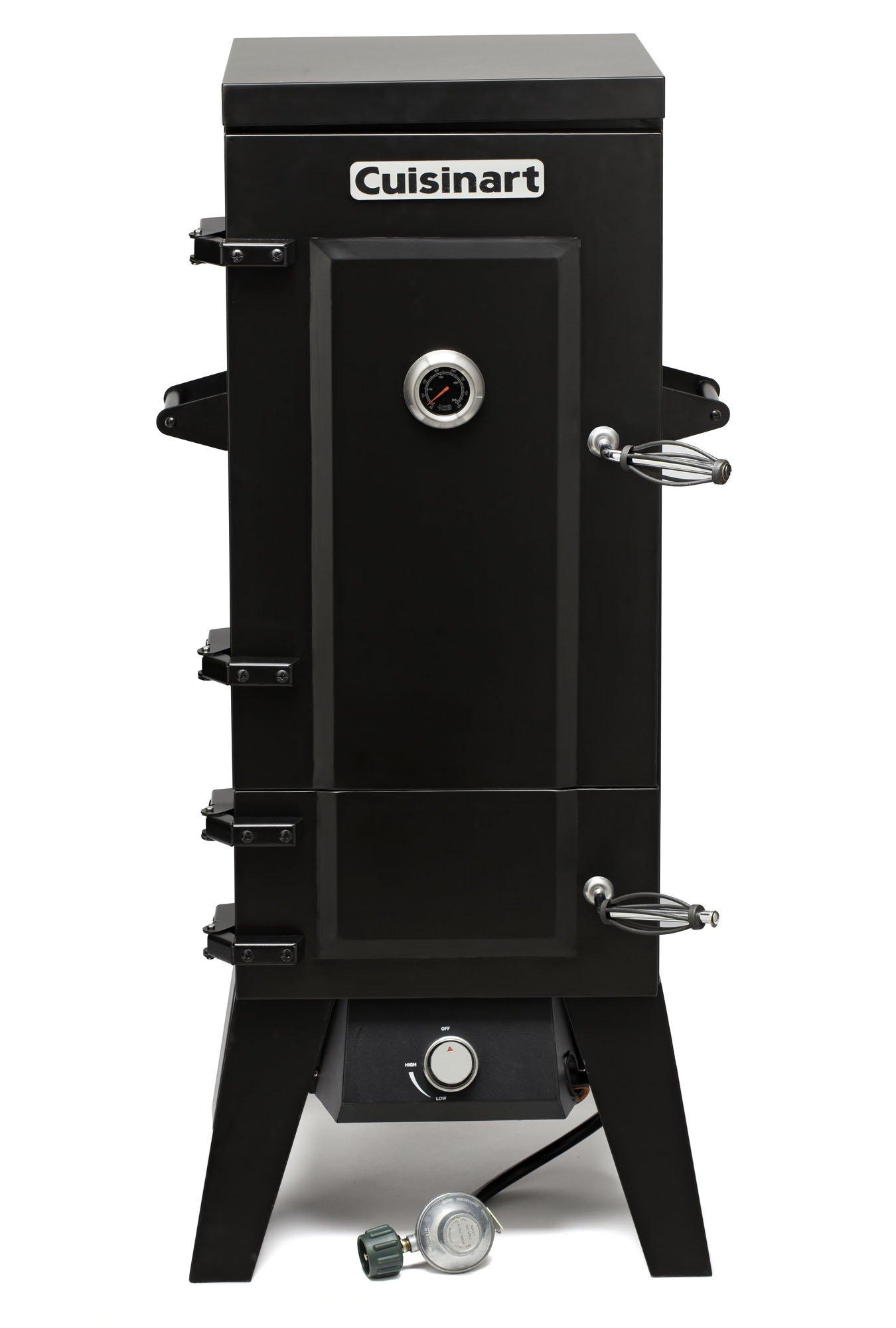 Cuisinart COS-244 Vertical 36'' Propane Smoker, Black