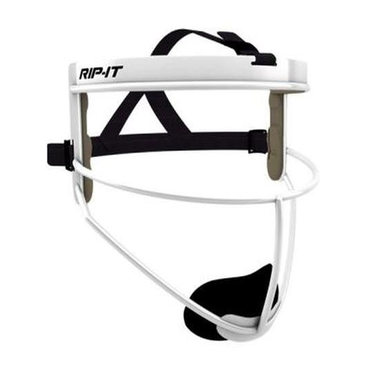 RIP-IT Defense Pro - The Ultimate Softball Fielder's Mask - Lightweight Protection with Uninhibited Visibility, Performance, and Blackout Technology - White - Youth by RIP-IT