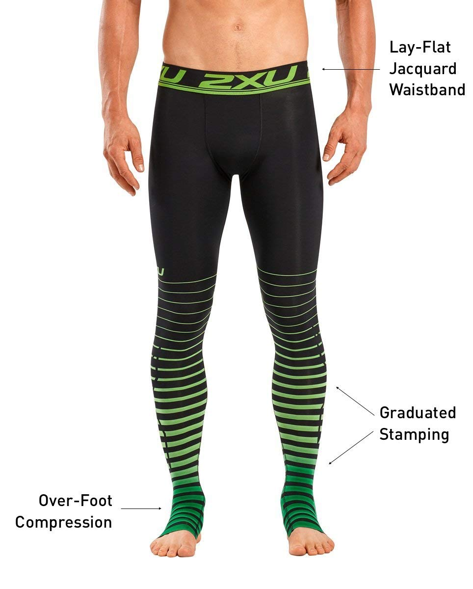 af36a99f46021a 2XU Men's Elite Power Recovery Compression Tights: Amazon.co.uk: Sports &  Outdoors