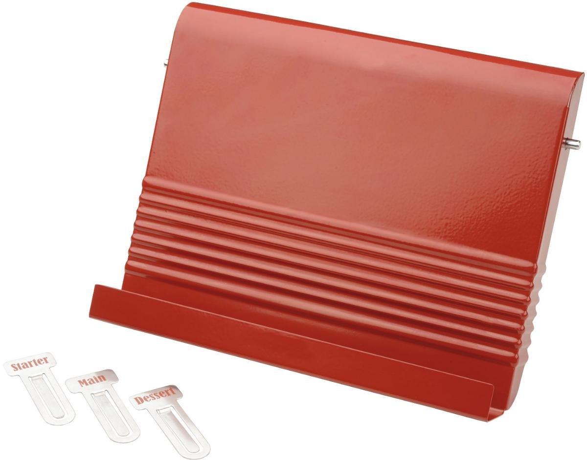 Typhoon Vintage Kit Red Steel Recipe Bookstand