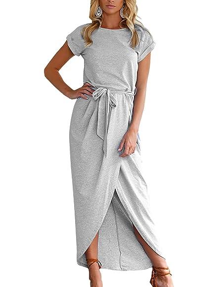 Maxi Dress with Waistband