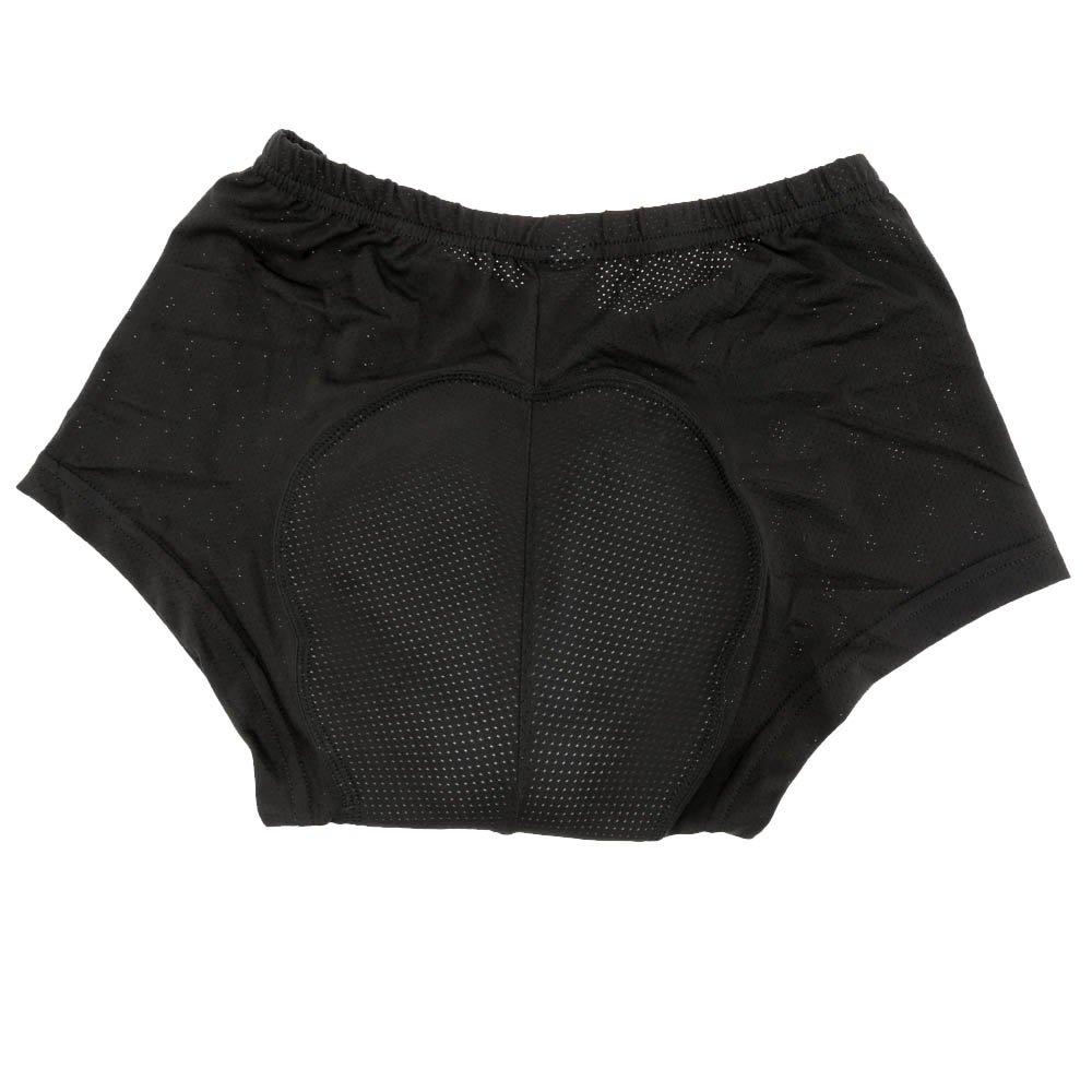 Lixada Sous-V/êtement Cyclisme Gel 3D Rembourr/é Shorts Pantalon Respirant Rembourr/é Briefs Unisexe