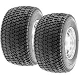 Set of 2 SunF Lawn Mower & Garden Tractor Turf Tires 22x10-14,...