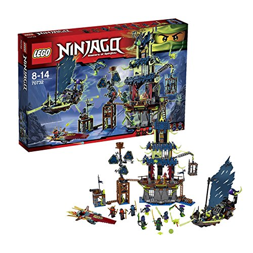 LEGO Ninjago 70732 City of Stiix - Masters of Spinjitzu (Lego City Costumes)