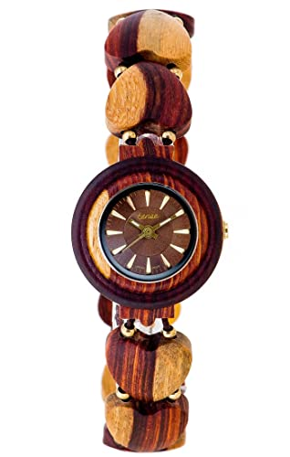 Tense Maria Maplewood And Sandalwood Watch