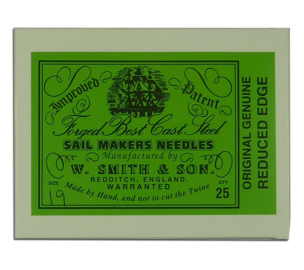 Wm. Smith & Son 25-pk of #15 Sailmakers' Needles by Wm. Smith & Son
