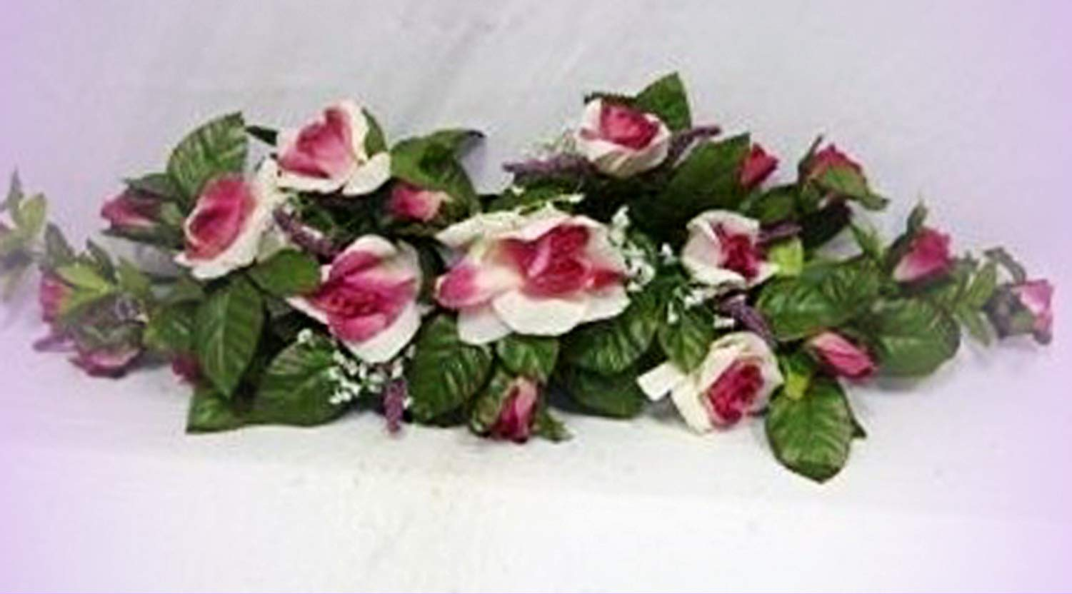 Inna-Wholesale-Art-Crafts-New-Rose-Swag-Cream-Mauve-Silk-Centeripece-Decorating-Flowers-Arch-Gazebo-DIY-Perfect-for-Any-Wedding-Special-Occasion-or-Home-Office-Dcor