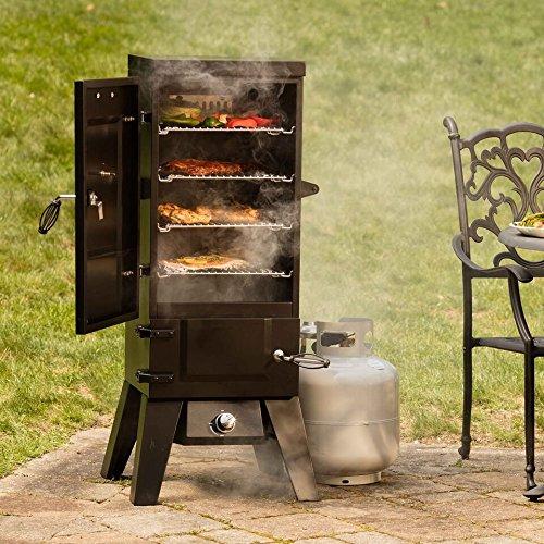 Cuisinart COS-244 Vertical 36'' Propane Smoker, Black by Cuisinart (Image #5)