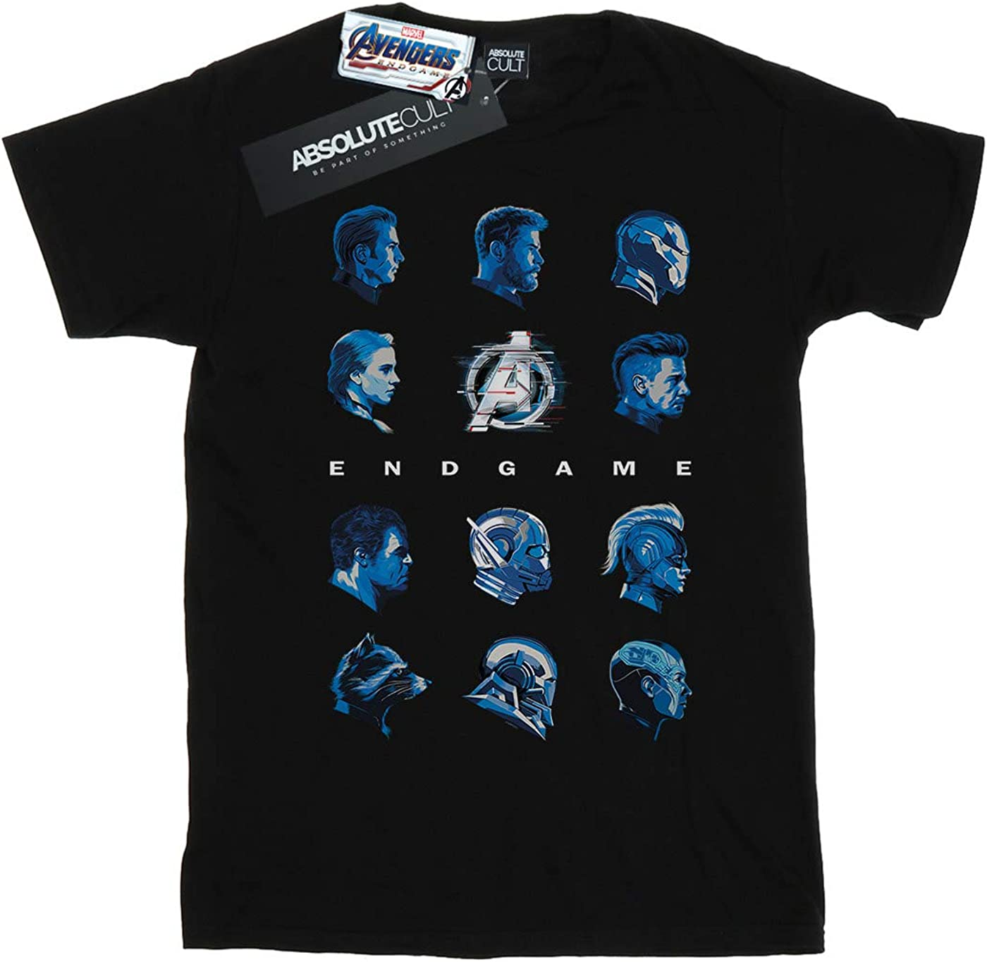 Marvel Ni/ños Avengers Endgame Character Lineup Camiseta
