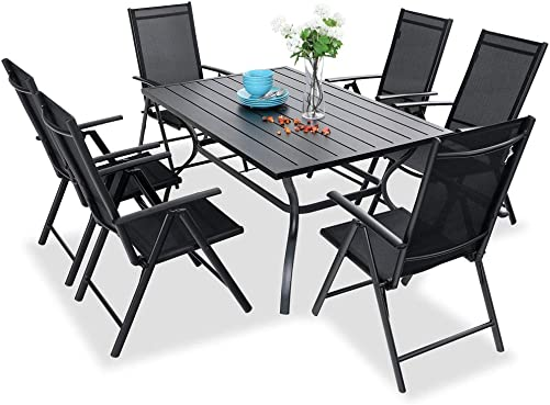 PHI VILLA 7 pcs Patio Dining Set