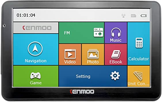 kenmoo 8 GB de 7 pulgadas TFT LCD de pantalla táctil GPS coche ...