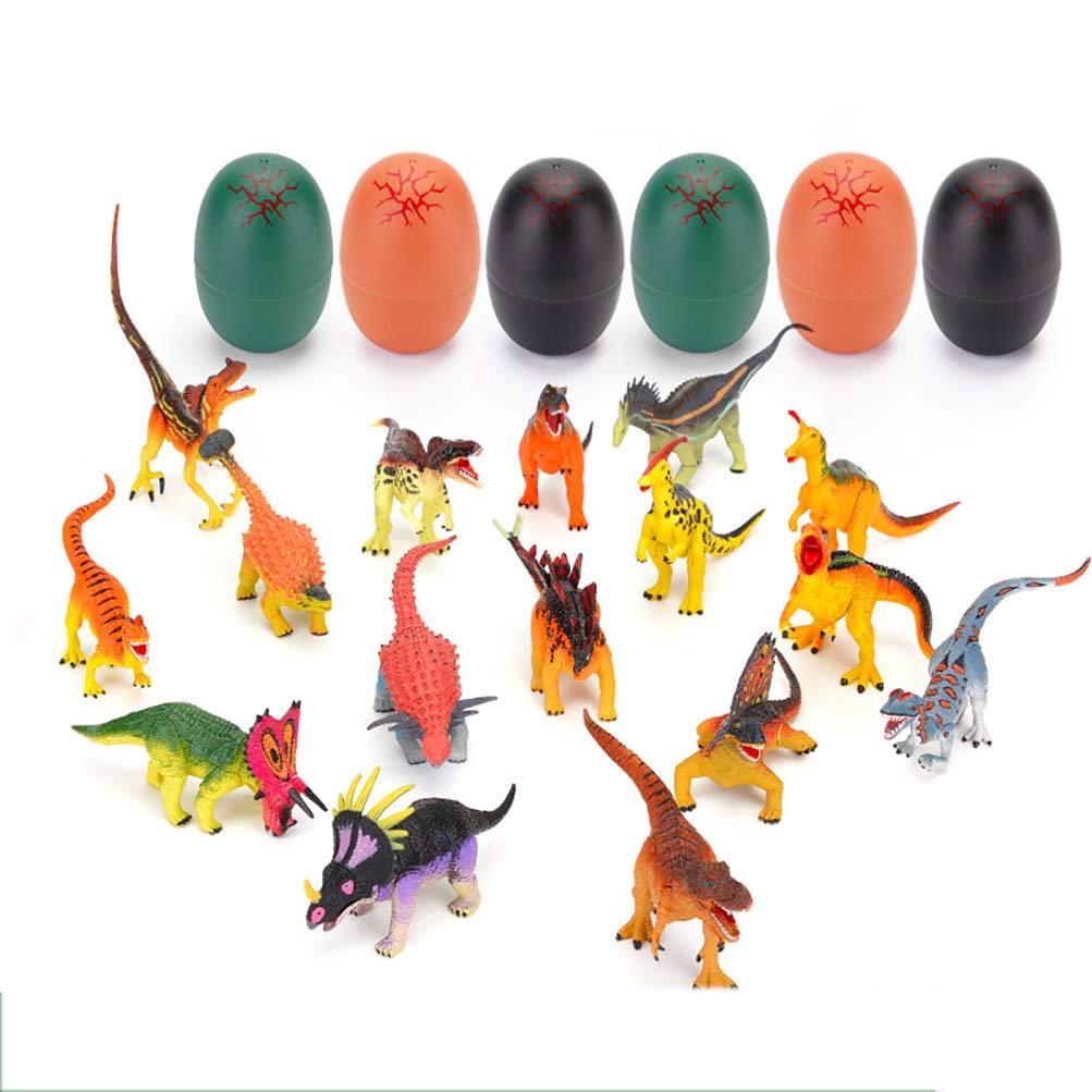 In Puzzles Dinosaur 3D ANRUX 16pcs Dino Set Favors Party