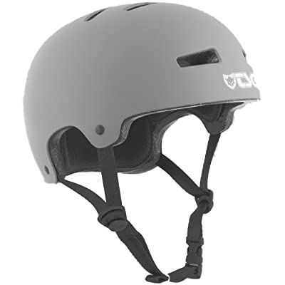 TSG Evolution Skateboard Helmet | CPSC Certified with EPS Impact Foam | Hard Shell Action Sports Head Protection with Customized Fit : Sports & Outdoors